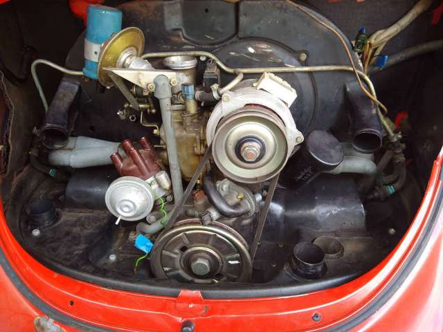1979 VW FI Engine -