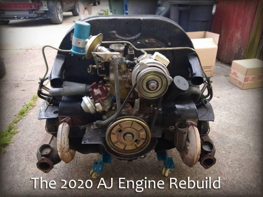 2020 AJ Engine Rebuild