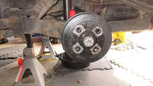 1979 VW Beetle - Drive Side Rear Drum Assembly