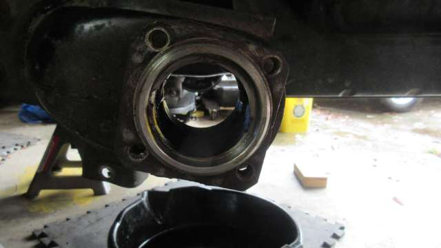 1979 VW Beetle - Driver Side - Inside of bearing housing