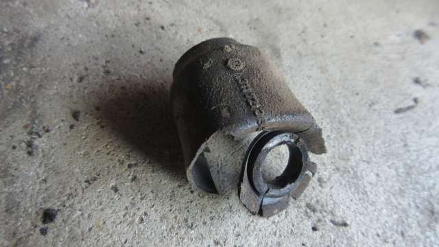 1979 VW Beetle - Chassis to Bowden Tube Boot