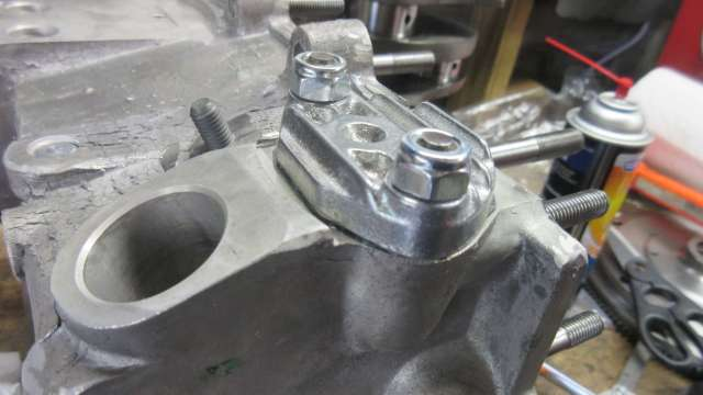 2020 Engine Build - Fuel Pump Block Off