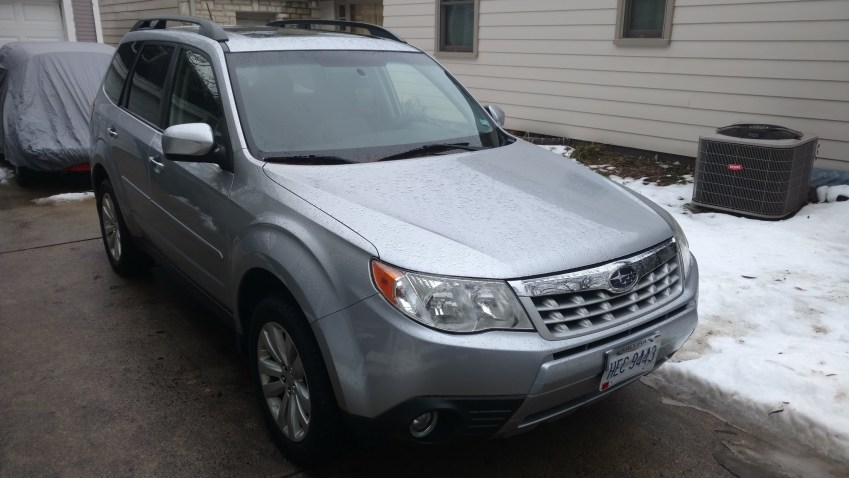 2013 Subaru Forester X Limited