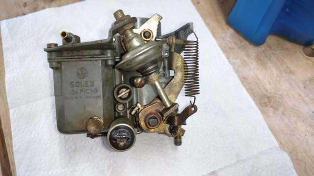 AH Engine - Original Solex 34 PICT 3 carburator