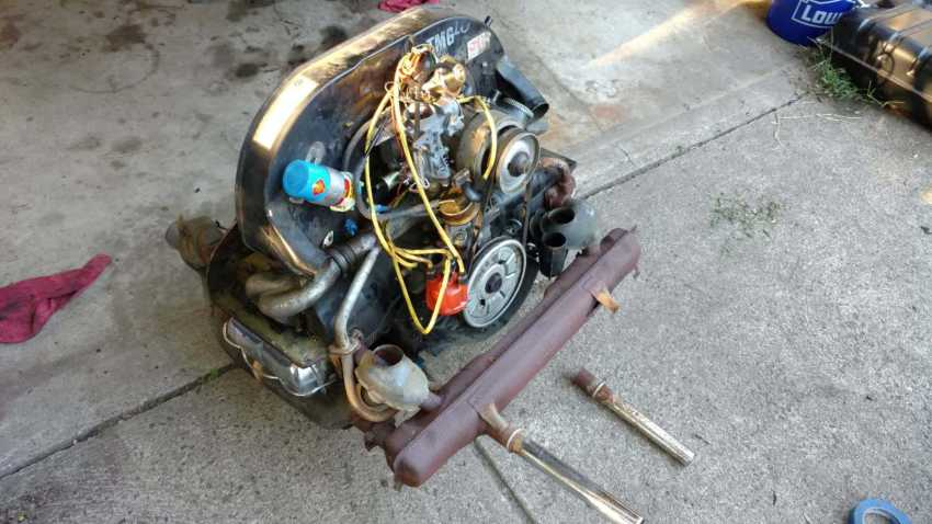 AH Engine - Removed from 74