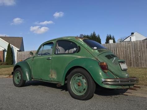 Jason Morrison's 73 1303 Super Beetle Beetlebaum