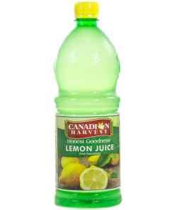 09d2eb2f2ce8f5f6bdfe6b903b6b674d - Canadian Harvest Lemon Juice 946g