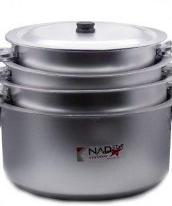 11x14 475x475 1 - Nadstar Kunda Cooking Set With Lid 4pcs 11x14