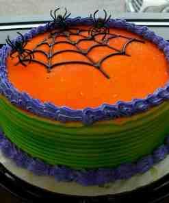 hallowen - Halloween Round Shaped Cake