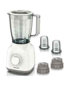 philips blender hr211305 400w 15l - Philips 400W Blender with 2 sets of mini chopper, 1.5 Ltrs. Plastic Jar, 5 Star Serrated blade HR2113