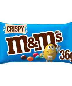 5000159304245 - M&M's Crispy Chocolate Bag 36g