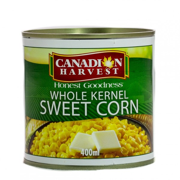 66c9ce07df7b28e2ded7403cb391a1e8 - Canadian Harvest Whole Kernel Sweet Corn 400g
