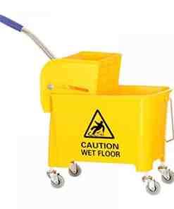 AF08068 trolley 1000x1000 1 - Nadstar2 Cleaning Mop Bucket 30L Single Mop Side Press Wring Trolley AF08079
