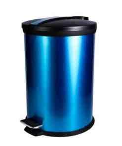 B09 20LP 475x475 1 - Nadstar2 Dustbin Pedal Steel 12 Liter Blue B09-12LP