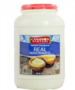 HDPE Gallon - Canadian Harvest Real Mayonnaise HDPE Gallon - 4 pcs