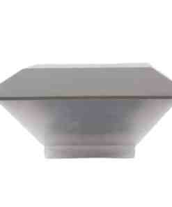 LL 1671 WH1 1 - TRONIC BULKHEAD FITTING 8X1W CREE LED WW
