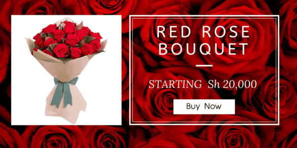 RED ROSE BOUQUET -