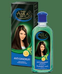 SB 0003 Amla Anti Dandruff Hair Oil - Dabur Amla Anti Dandruff Hair oil - 300ml - 24