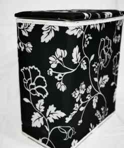 WhatsApp Image 2020 06 03 at 7.43.23 PM - Laundry Hamper Black&White Color
