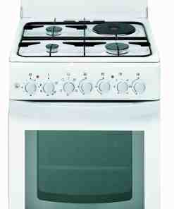 ariston c31n1 combination gas and electric cooker scaled - ARISTON COOKING RANGE 3 GAS BURNER 1 ELECTRIC HOT PLATE C 31 N1 W EX