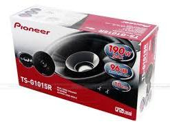 download 12 - PIONEER SPEAKERS DUAL CONE FOR CARS 10CM TS-G1015R