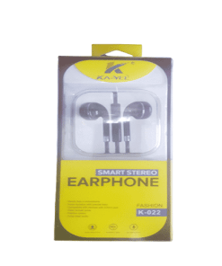 k 022 - Ka-yel Smart stereo Earphone K-022