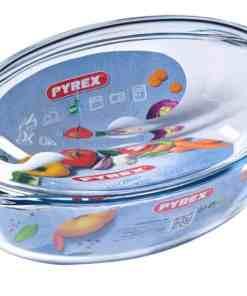 pyrex 459a0007143 oval casserolefirin ka 0ed4 - PYREX CASSEROLE CLASSIC OVAL 3L 459A000/7143
