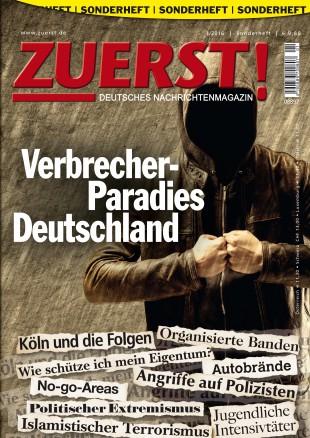 Sonderheft: Verbrecher-Paradis Deutschland
