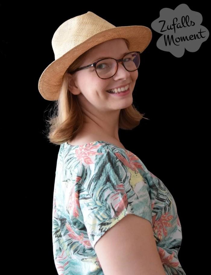 Haare mit Hut