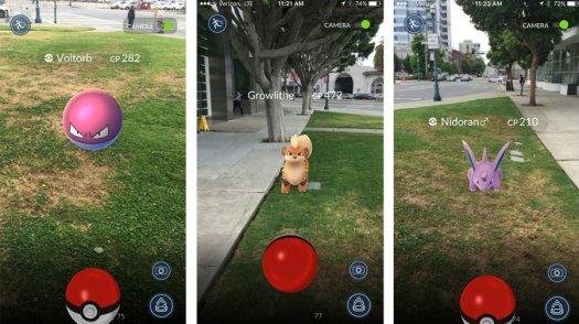 Pokemon Go Augmented Reality Geolocation