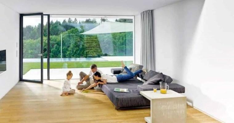 Spezialbeschichtung für Fenster bietet Wohnkomfort