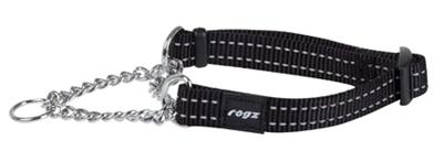 Rogz for dogs snake choker zwart