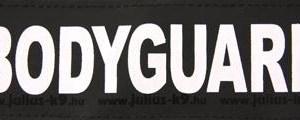 Julius k9 labels voor power-harnas / tuig bodyguard