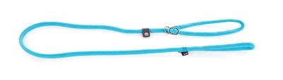 Retrieverlijn nylon rond turquoise