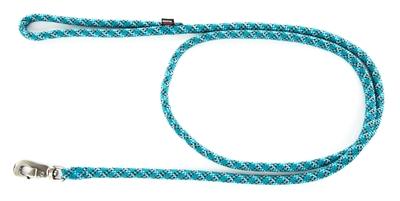 Looplijn longe nylon reflecterend blauw