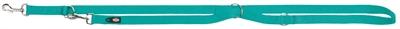 Trixie hondenriem premium verstelbaar nylon oceaan blauw
