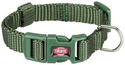 Trixie halsband hond premium bosgroen