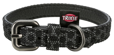Trixie halsband hond night reflect zwart