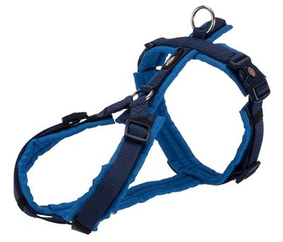 Trixie hondentuig premium trekking indigo / royal blauw
