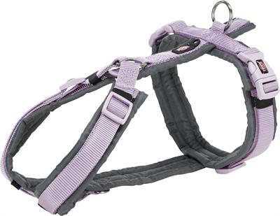 Trixie hondentuig premium trekking lila / grijs