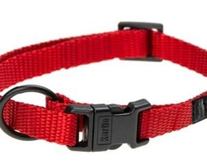 Karlie halsband sport plus verstelbaar rood
