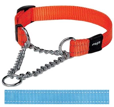 Rogz for dogs snake choker turquoise
