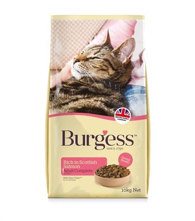 Burgess cat adult rijk aan schotse zalm