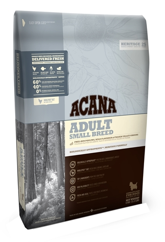 Acana heritage adult small breed