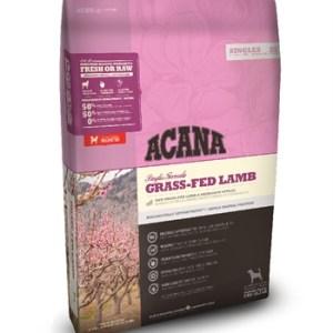 Acana singles grass-fed lamb dog