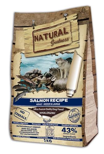 Natural greatness salmon sensitive medium