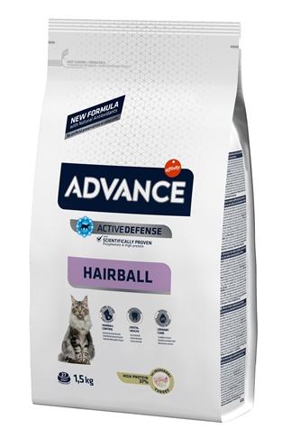 Advance cat hairball turkey / rice