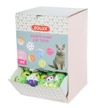 Zolux display speelballen kat assorti