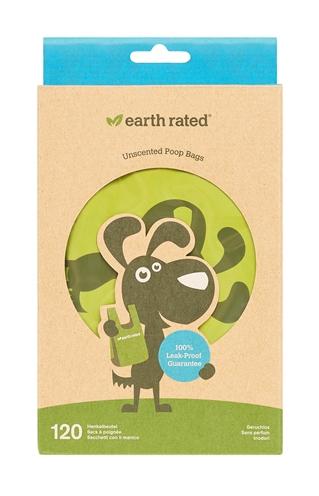 Earth rated poepzakjes met handvaten geurloos