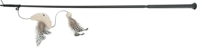 Trixie speelhengel vis xxl met catnip